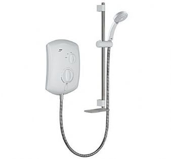 Mira Jump Electric Shower (10.8kW) White/Chrome